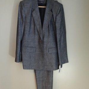 NWT Liz Claiborne collection 2 pc pant suit SZ 10
